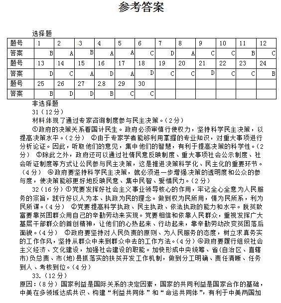 2016-2017试卷黑龙江省高中一中高一答案期末学年肇东临湘政治哪些有图片