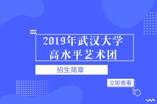 2019武汉大学高水平艺术团招简