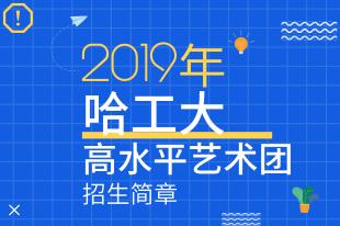 哈尔滨工业大学2019年高水平艺术团招生简章
