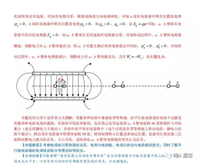 2020高中物理高考重难点题突破解析及记错提醒7