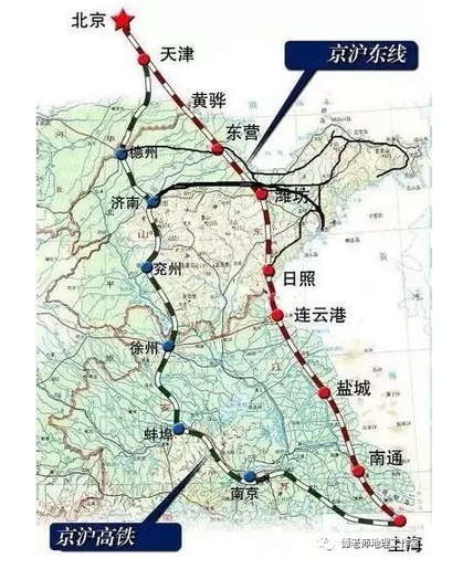 2020高考地理中国十大主要铁路干线知识点2