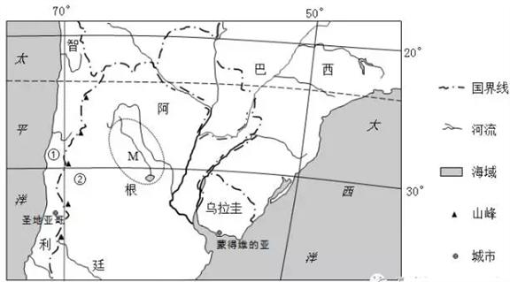 2020年地理学科视角下的东非蝗灾考点+考题1