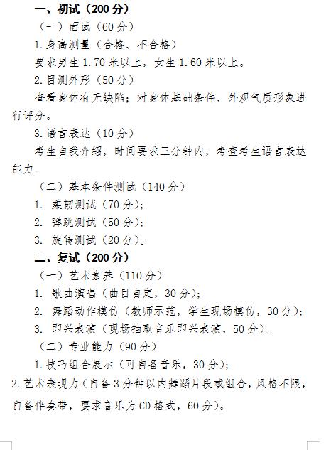 西藏自治�^2021年普通高等�W校招生��g�(舞蹈�W�)��I考�大�V