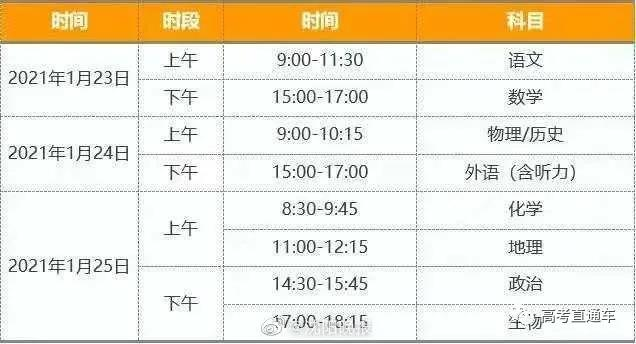 辽宁省公布新高考适应性考试时间